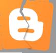 Счупено лого на Blogger